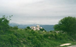 Typical Contadini Mountain Village