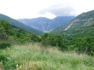 Typical Sulmona Trail Scenery